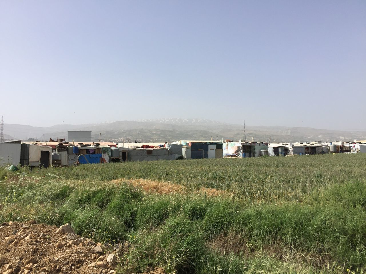 Refugee Camp Beqaavalley Lebanon