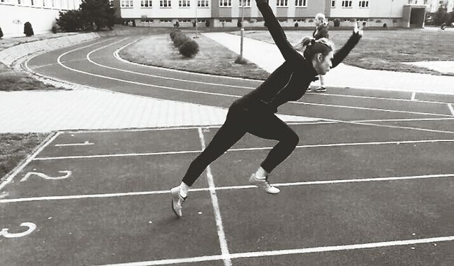 Passion ✔️ #tracknation #trackandfiled #nike #spike #bw #blackandwihite #runfast #trainhard #nopainnogain #lepszaja #workout #me #polishgirl #athlete Vscocam Vscopoland