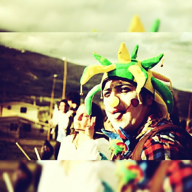 Green Color Payaso Claus Happy :) Sun Party First Eyeem Photo