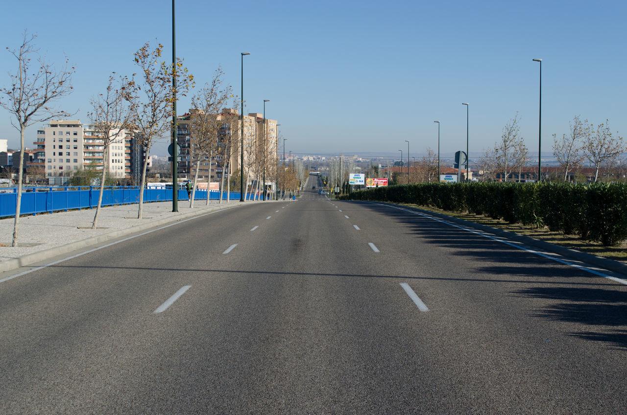 Calle de un puente 2015  City Day Eddl No People Outdoors Sky The Way Forward Zaragoza