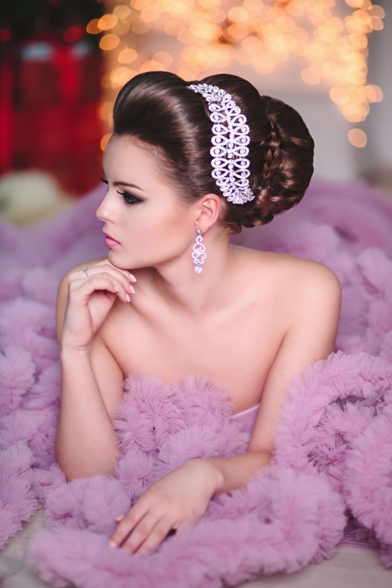 Fashion Hair Weddinghair Long Hair Wedding2015 Weddingdetails Pretty Girl Hairstyle Hairdresser Happy Wedding Novia2015