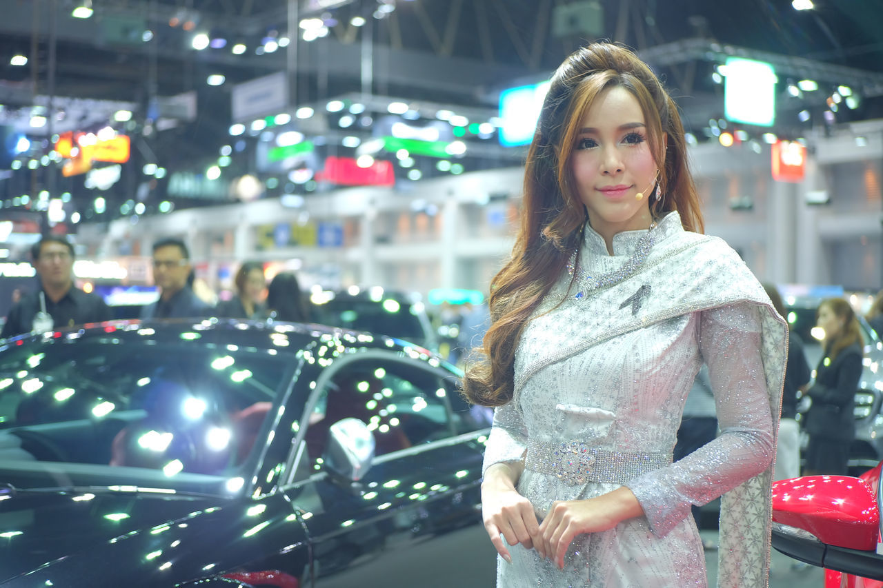 pretty model car in Thailand motor expo 2016 Beautiful Car Car Show Event Exibition Exibition Hall Girl Hall Model Motor Expo Present Pretty Girl Pretty Girls Pretty Model Pretty Model Car Show Thai Costume Thai Costumes Thai Dress Thai Girl Thai Model Thai Period Costume Thai Period Dress Thailand Motor Expo 2016 Traditional Thai Costumes