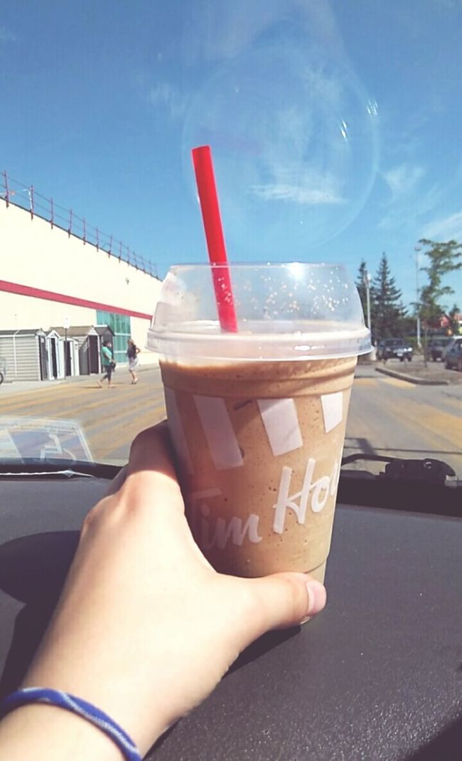 Thank god its saturday Timhortons Tim Hortons  Canada Small Town Feel Ice Cappuchino...