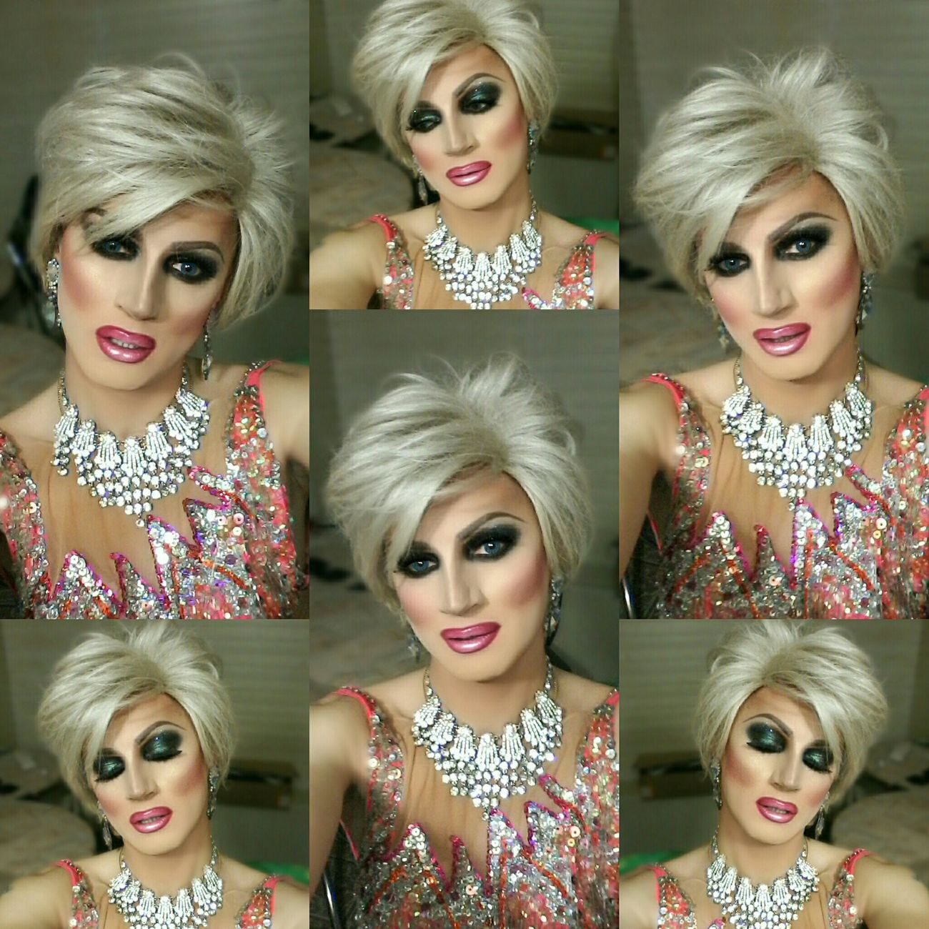 Dragqueen  Hello World Smokyeyes Dragshow Diva Divacrystal LivingForLove Perfect Popular Selfie www.crystalshow.com.ua