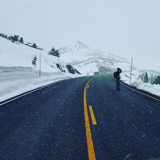TBT  caught in the Snow on Trailridgeroad in Rockymountainnationalpark Colorado Photo taken: May 2015 Travel Hiking Outdoors Adventure Roads Rockymountains Mountains Pass Rainbowcurve Storm Weather Blowingsnow