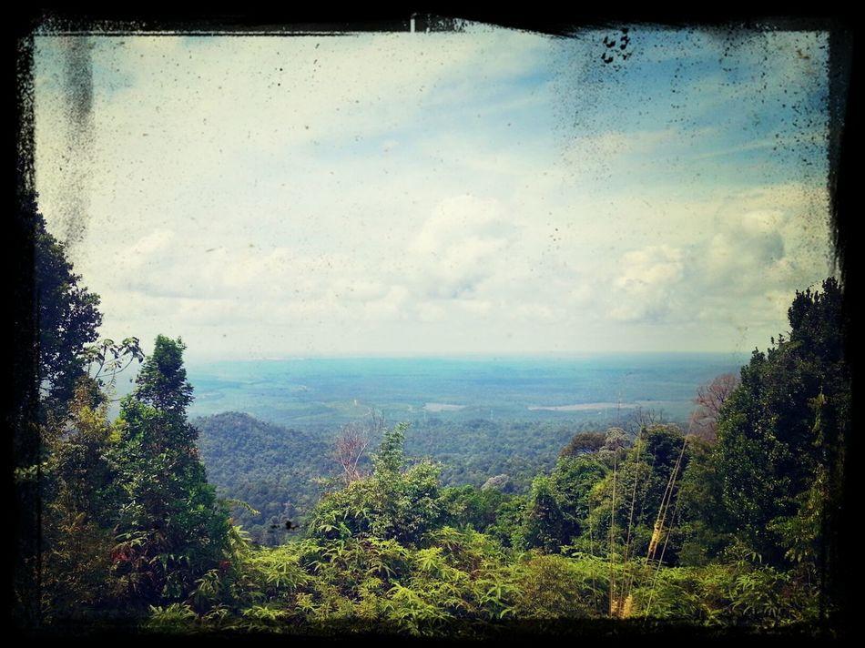 View dari puncak Bukit Tunggal