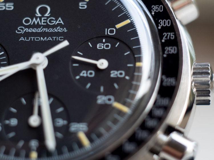 SpeedmasterProfessional Close Up Close-up Day Macro Minute Hand No People Omega Omega Speedmaster Technology Time Wristwatch