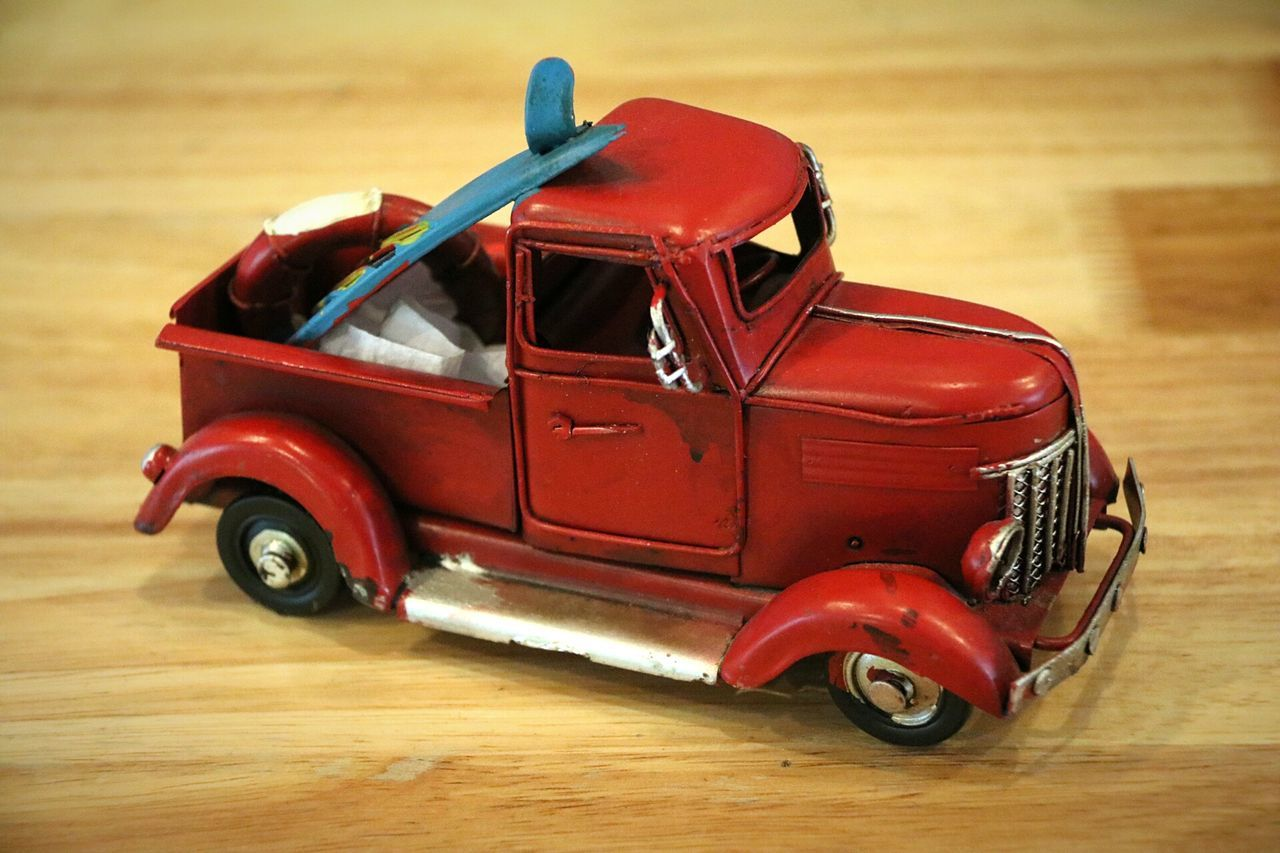 Red No People Toys Toy Cars Car Model Car Models... Car Red Indoors  Indoors  Old-fashioned
