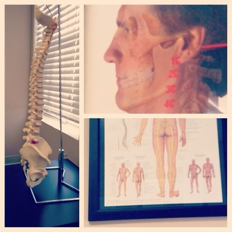 The stuff in doctor's offices creeps me out sometimes... Doctor  Chiropractor Spine Creepyjawman scary noscoliosisyay why floatingpelvis thismakesmeuncomfortable