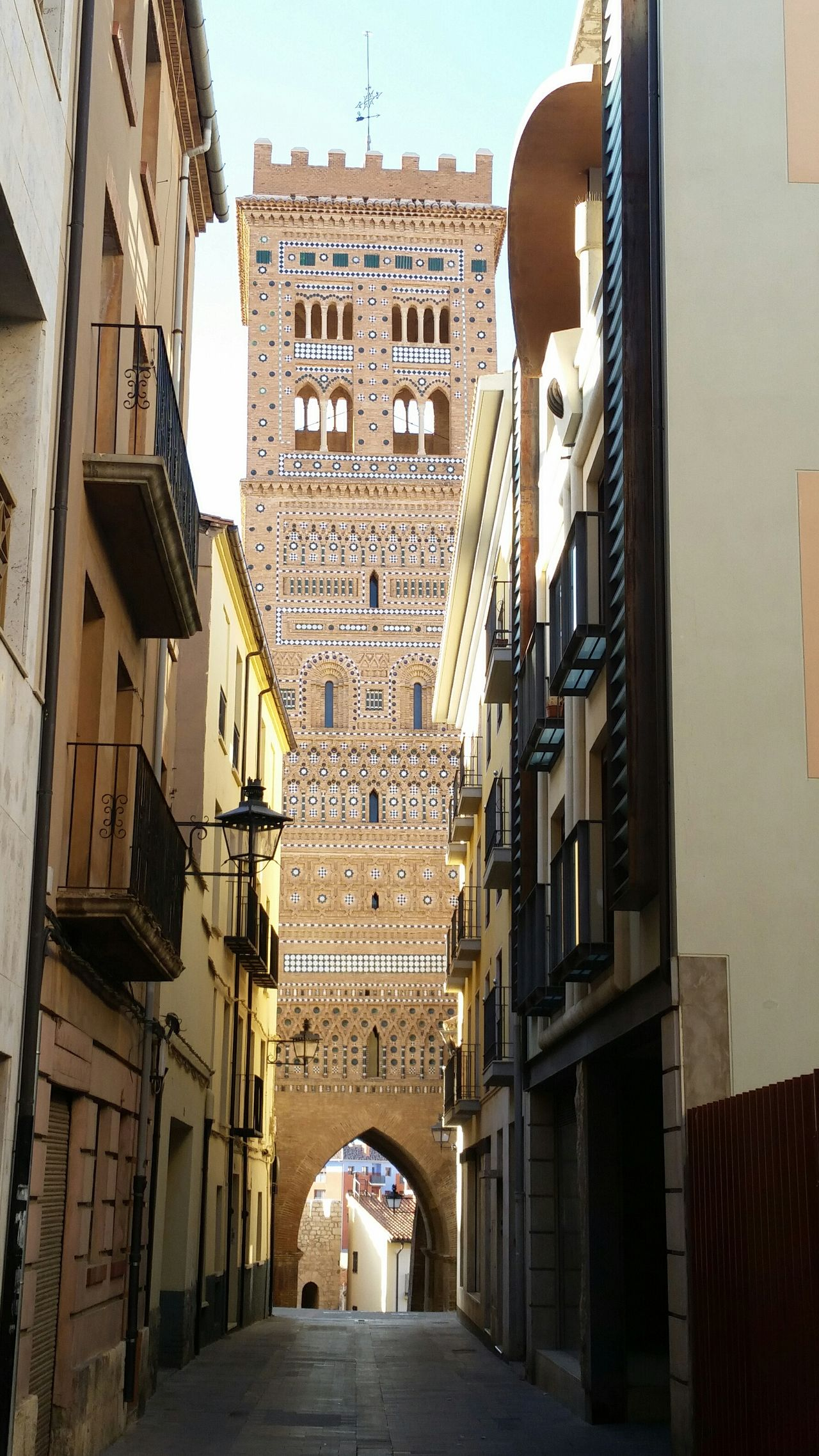 Mudéjar Medieval Architecture Monument Showcase March Building Tower Getty Adapted To The City
