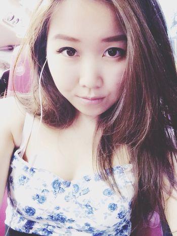 Selfie That's Me Self Portrait Asian Girl