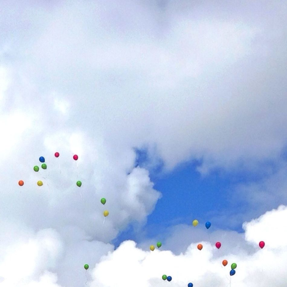 Blue Sky Minimalism Compositions