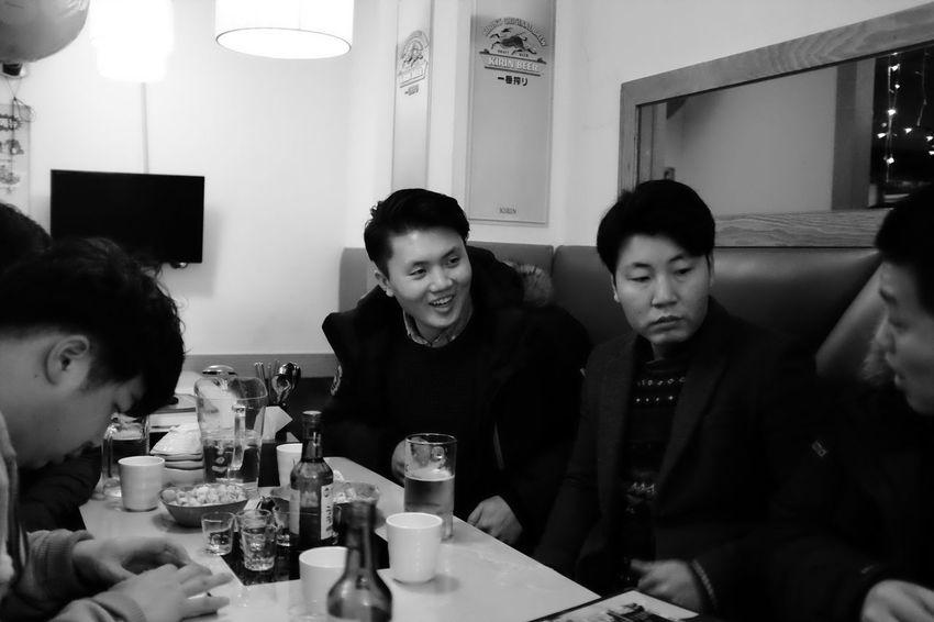 2015.01.30 덕수상고 시각디자인과 모임 Enjoying Life Friends People Blackandwhite Snap Photo Snap Life Fujifilm FujiX100T