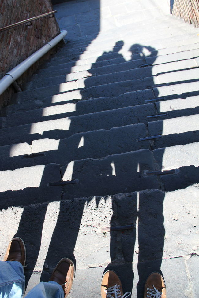 together forever Feelings Lifestyles Long Black Shadows Municipal Life Shadow Steps Steps And Staircases Together Forever Two Is Better Than One