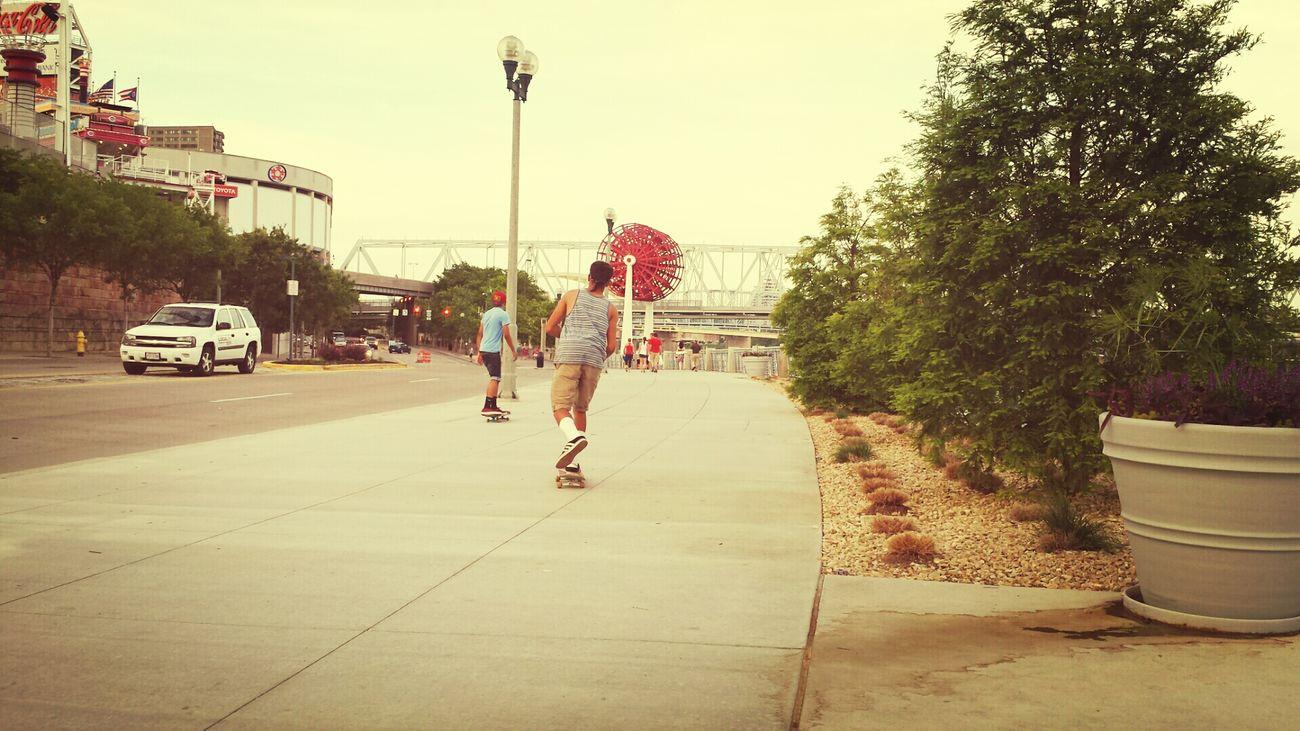 Cincinnati In Cincinnati Skateboarding
