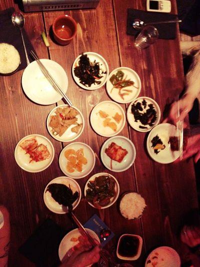 Dinner at Kimchi Princess Dinner