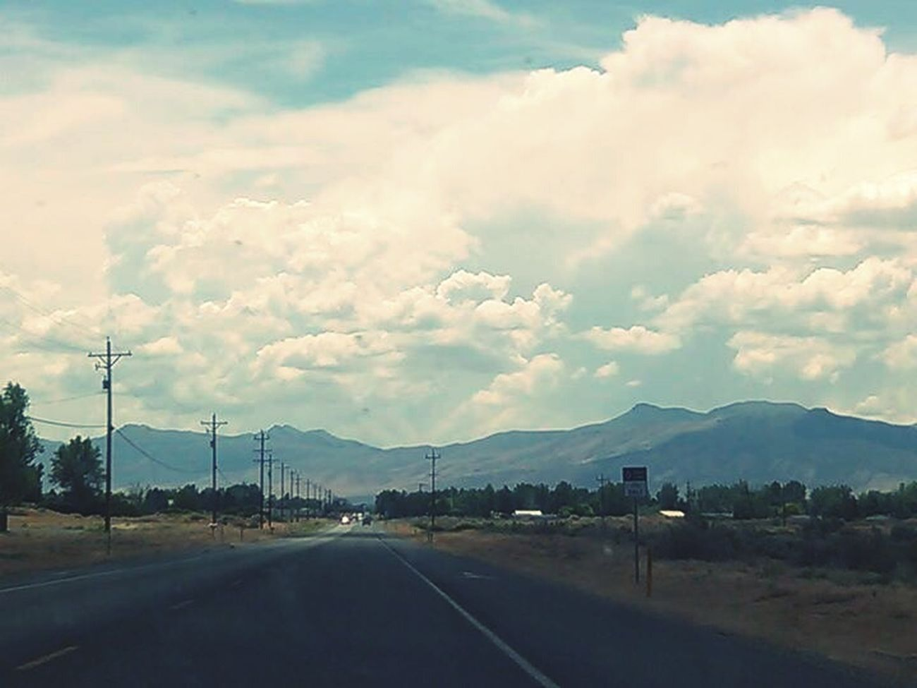 💎Nevada Skies💎 Drivingshots