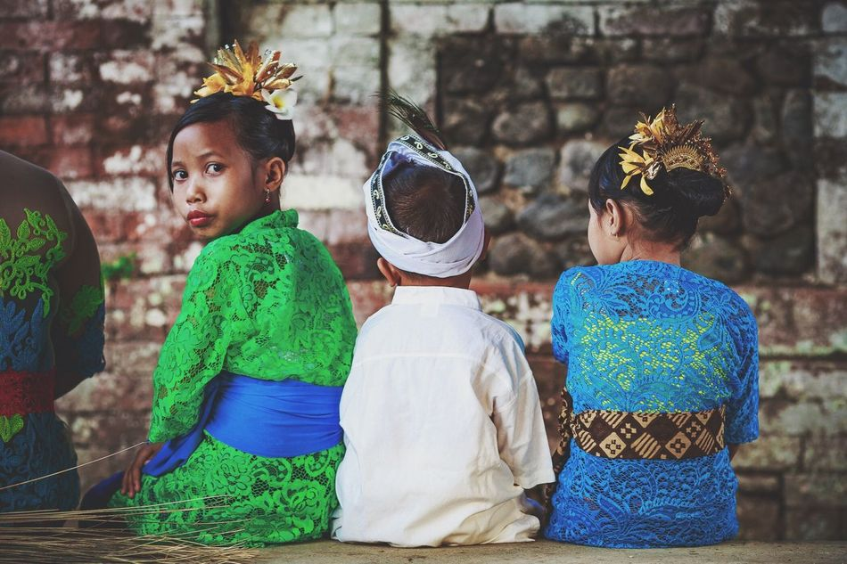 Bali Bali, Indonesia INDONESIA Kids Traditional Temple Ceremony Ceremonial Celebration Tropical Climate Candid Canon Kidsphotography Traveling Travel Photography Travel Travelphotography Candidasa Bali Tenganan Color Portrait Colourful Portrait Youth Of Today