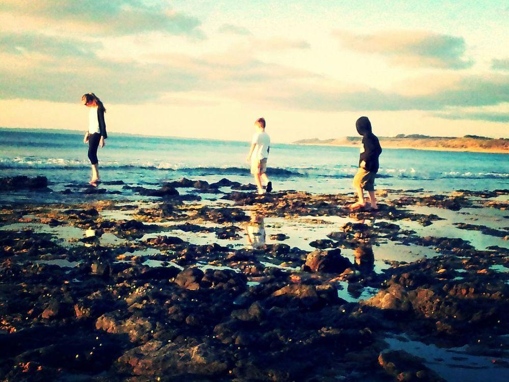 Melbourne Rocks Photography Bare Feet Enjoying Life Water Beach Beachphotography Looks Like A Painting My Darlings 3 Rock Pools