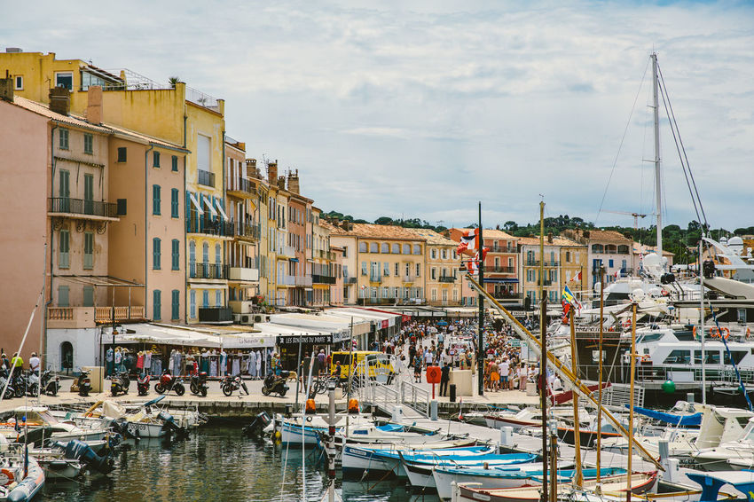 Boote Booted City City Life Côte D'Azur France France 🇫🇷 Frankreich Mittelmeer Schiffe Segelboot Segeln South France St Tropez  Stadt Summertime Südfrankreich Travel Destinations Water Yacht