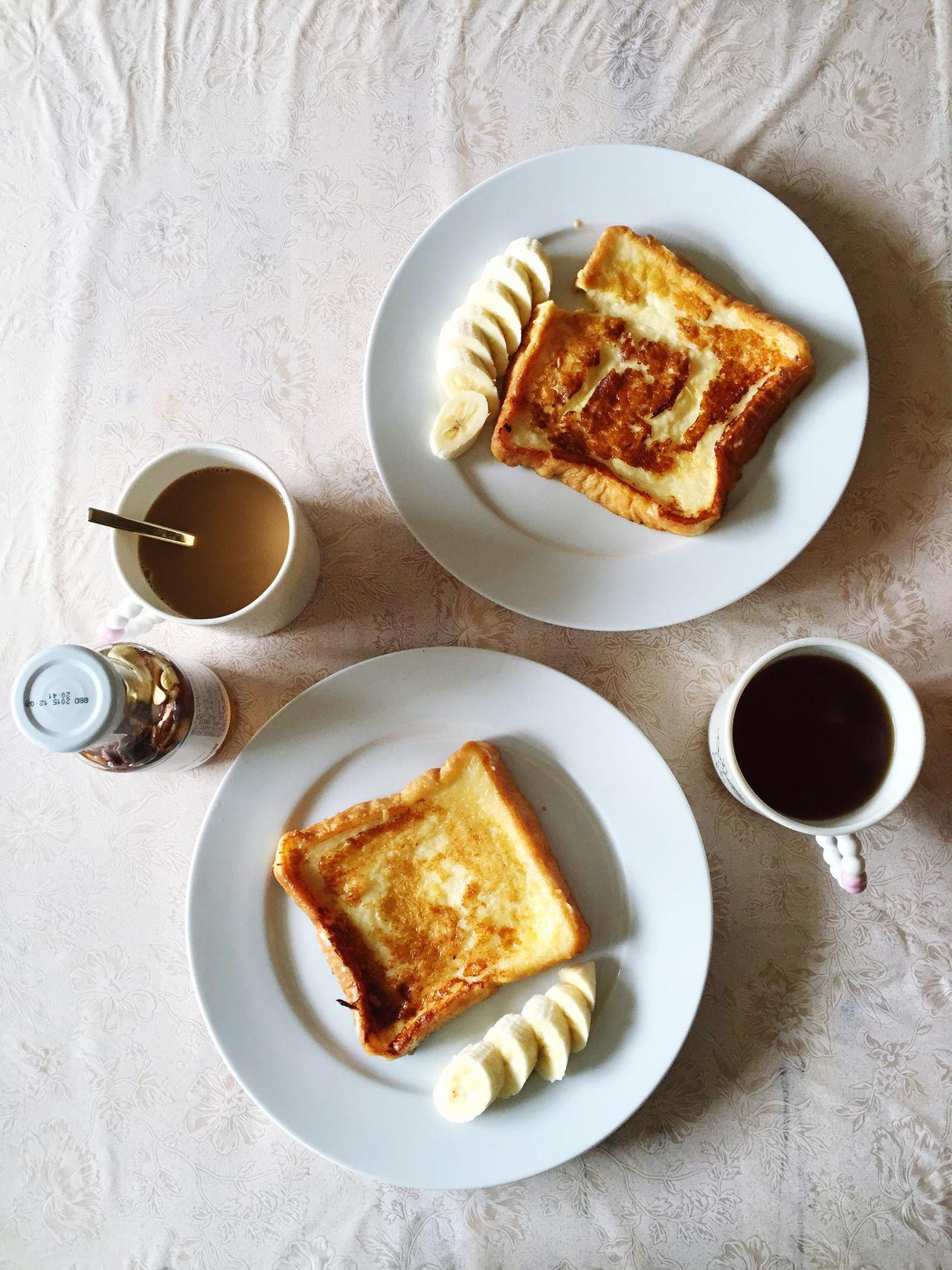 Beautiful stock photos of banana, Banana, Bread, Breakfast, Cappuccino