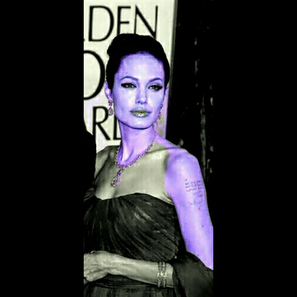 Photo Elaborata Caricatura Colorful Sketch Angelina Jolie America Arizona EyeEm italia Italy