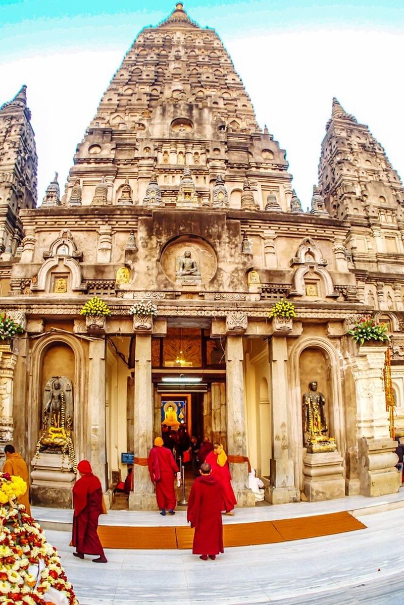 Mahabodhitemple Buddhist Temple Buddhist Taking Photos Enjoying Life Tranquility Hello World India Bodh Gaya