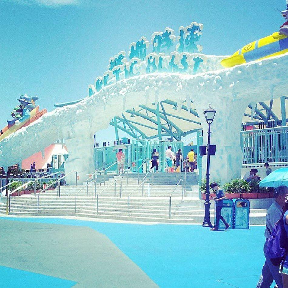 Arcticblast Oceanpark HongKong