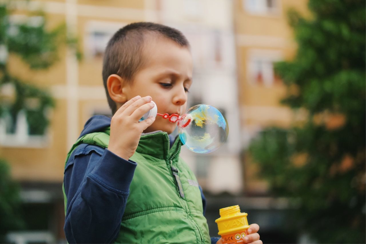 Fragile creation... Bubble Bubble Wand Childhood Blowing Focus On Foreground One Person Boys Real People Holding Leisure Activity Fragility Fun Playing Lifestyles Headshot Happiness Outdoors Bubbles BYOPaper! Playtime Blowing Bubbles My Favorite Photo Fashion Made In Romania Neighborhood Map