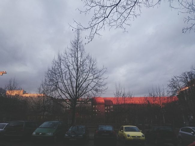 Showcase: February Winter Grey Light And Shadow Roof Contrast Orange Berlin