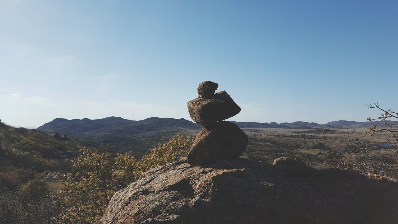 mountain, nature, day, no people, sculpture, landscape, statue, beauty in nature, outdoors, sky, clear sky