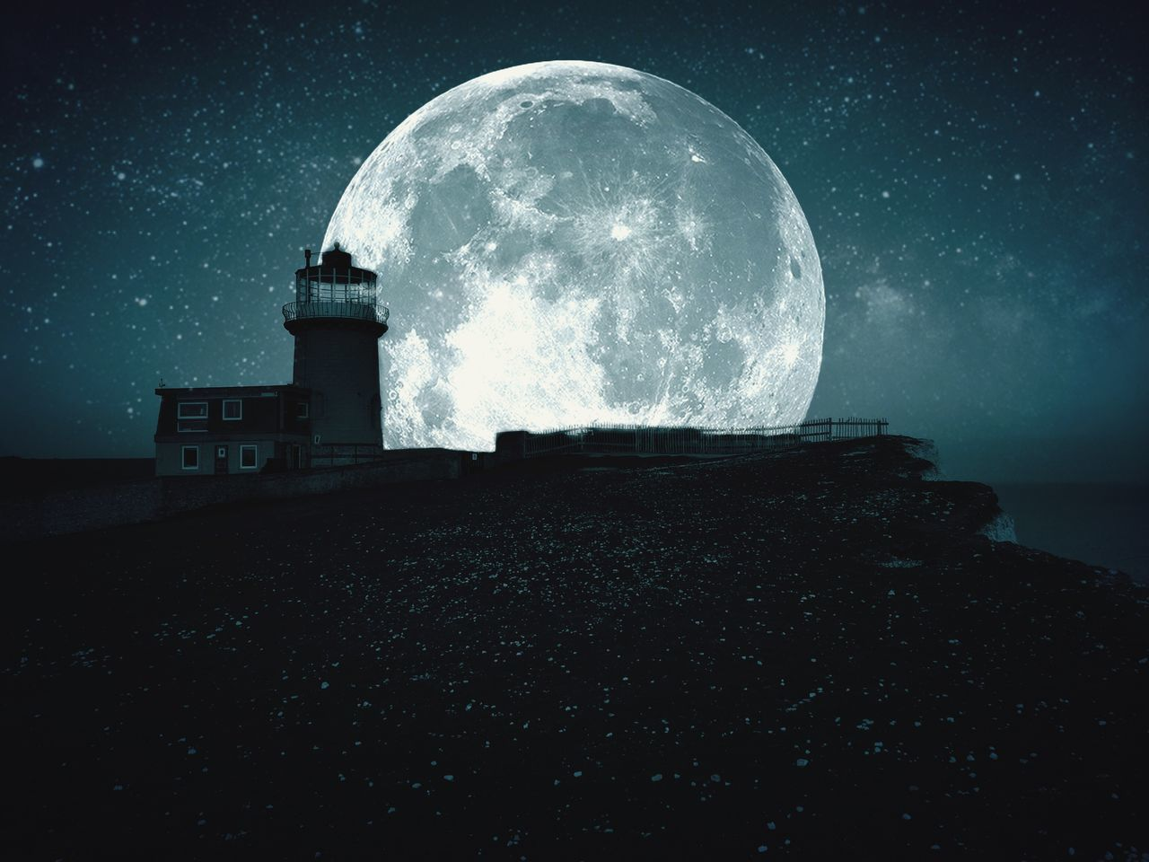 Beachy Head cliffs Beachy Head Cliffs Sea Moon Moonlight Enjoying The View IPhoneography Eastbourne EyeEm Bestsellers