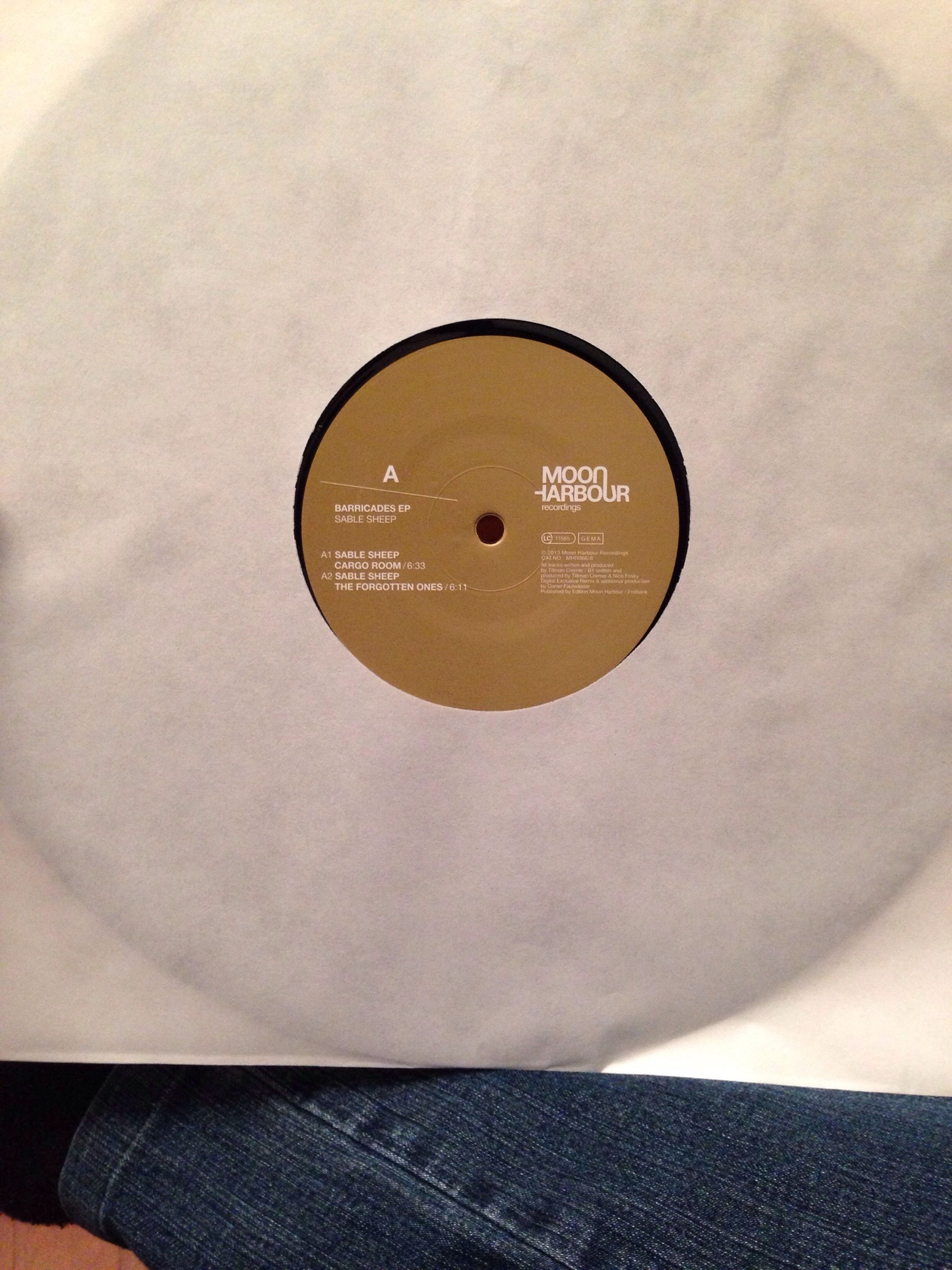 Vinyl Tech House Moon Harbour Deejay finally!!