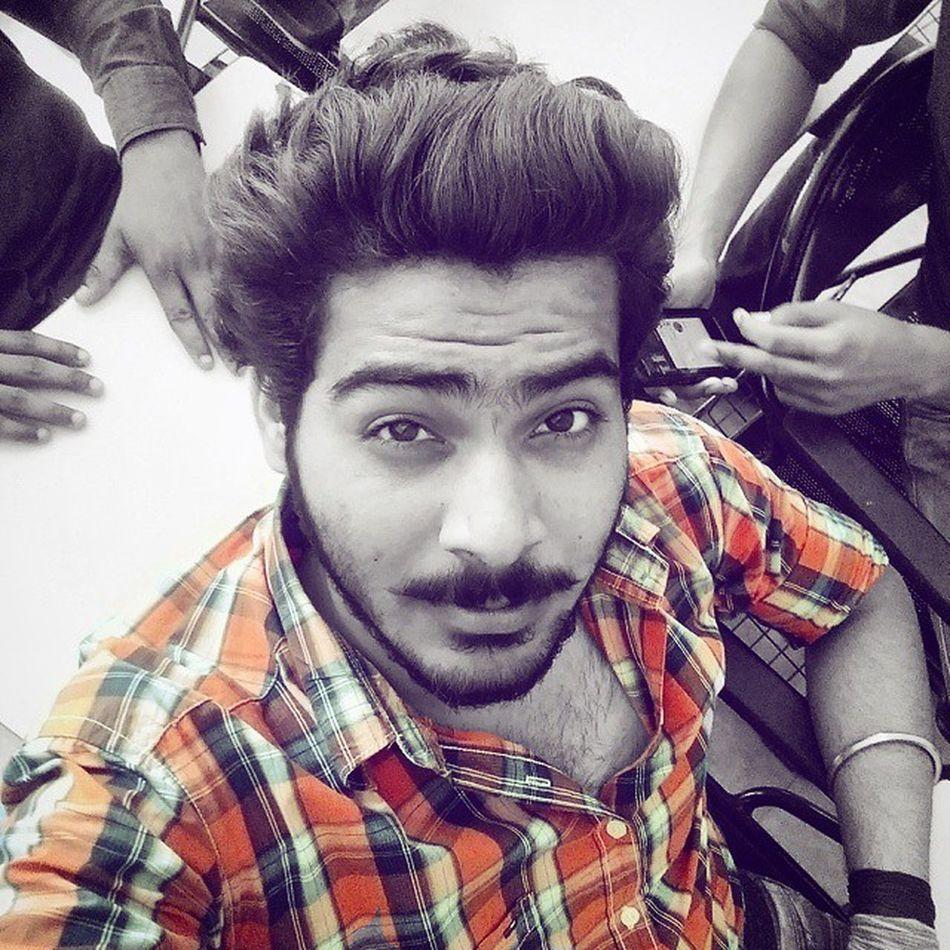 Color Pop Orange Blast 😍 . Beard Mustache Love 😘 . Instalove Instadaily Instapicture 😃 . Thakur Mucho K Taav Or Ladkiyo K Bhaav Kabhi Nhi Girata 😃😘