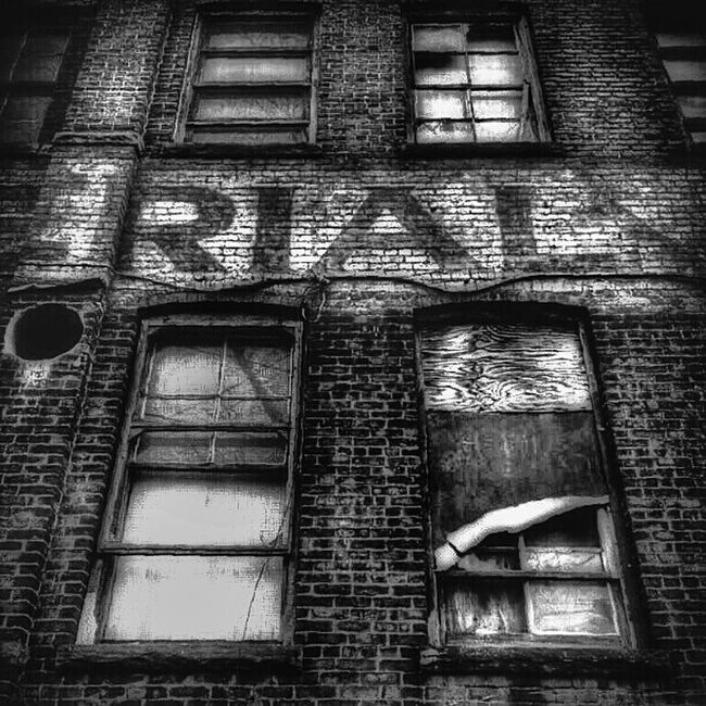 "Deep into that darkness peering, long I stood there, wondering, fearing, doubting, dreaming dreams no mortal ever dared dream before...- ""The Raven"", Edgar Allan Poe Blackandwhite Windows AMPt - Abandon Eye4black&white"