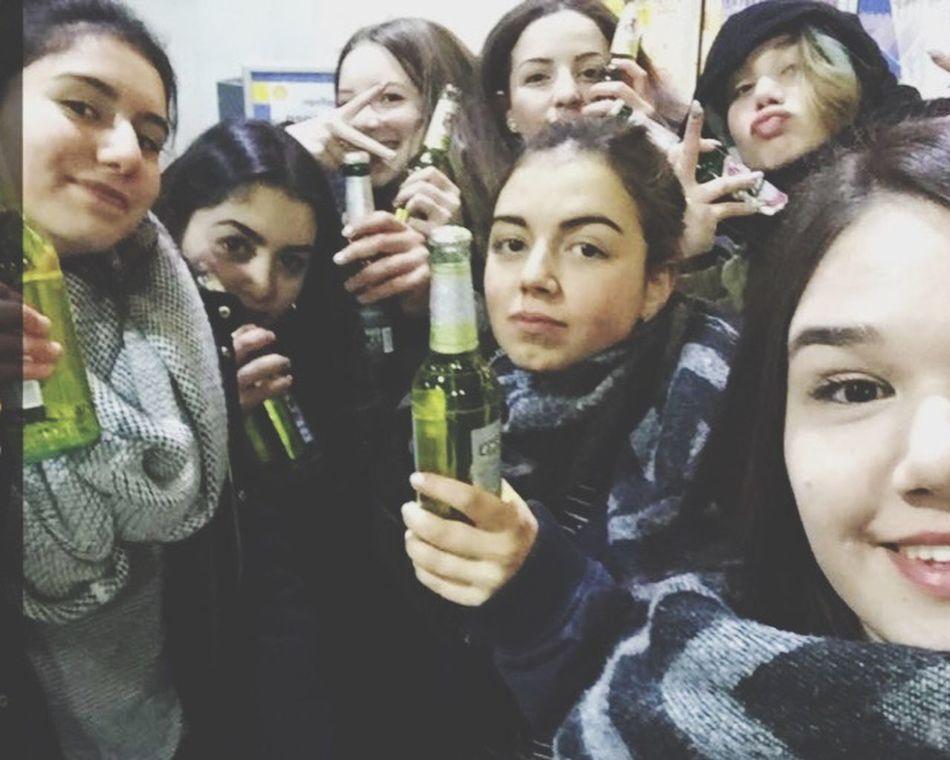 Zeigdochmaldeinbieri mit Jule, Layla, Alicia und