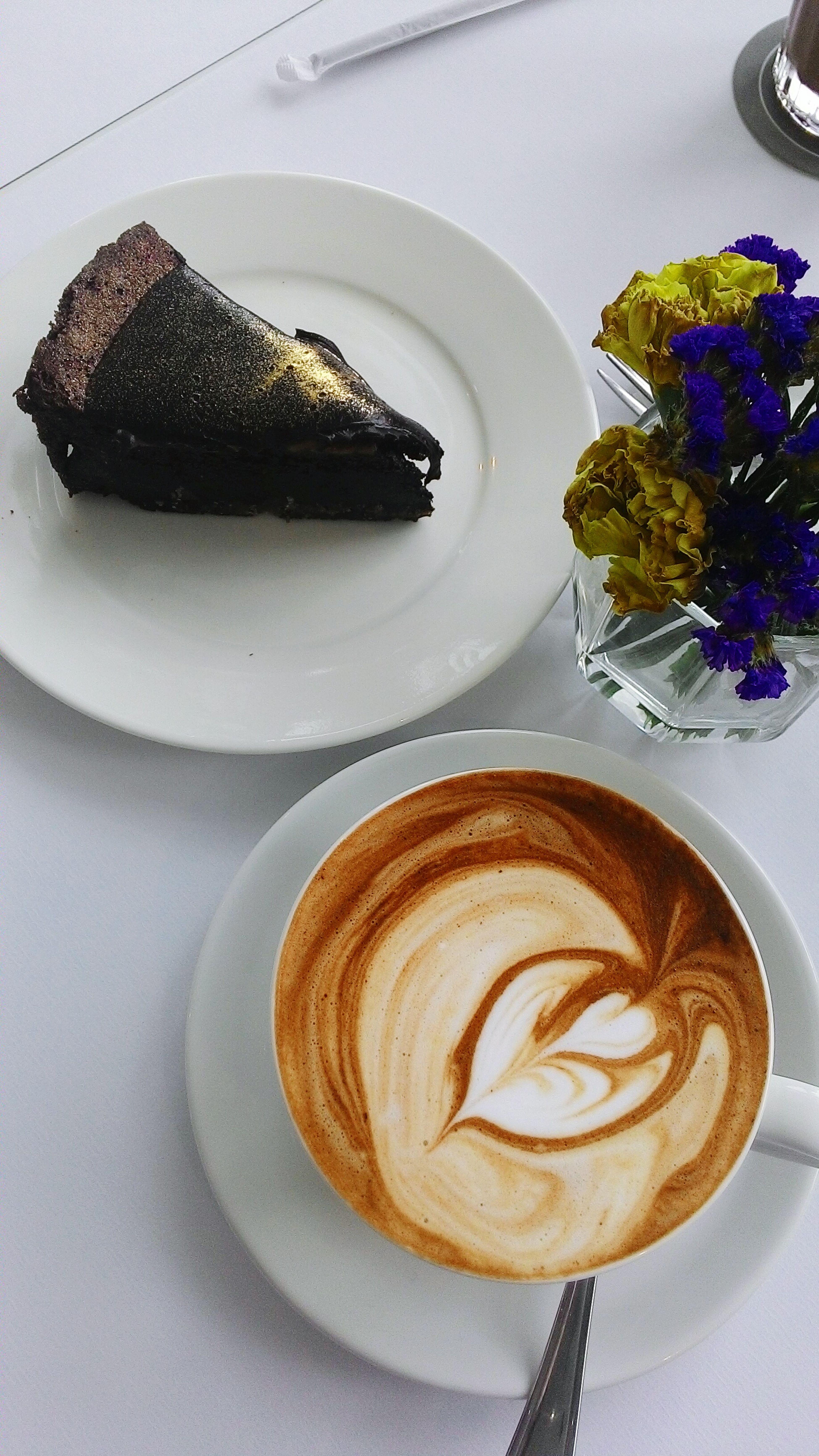 🍰🍰☕☕ Chocolate Cake Cakes Nom Nom Nom Dessert Foody Happiness Is....