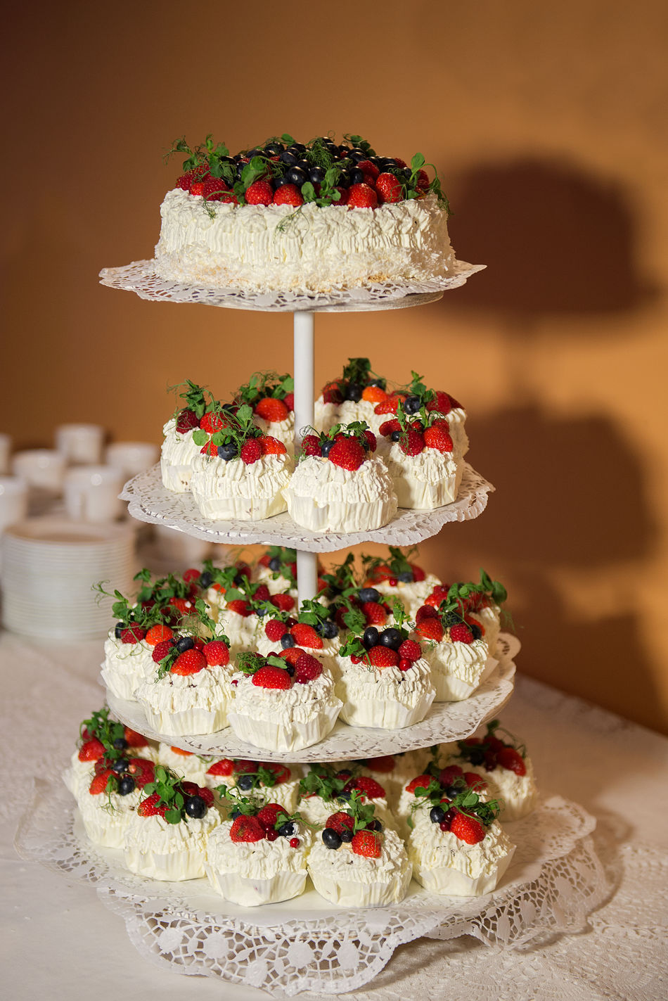 Backgrounds Cake Close-up Day Dessert Food Food And Drink Freshness Indoors  Indulgence No People Ready-to-eat Strawberries Sweet Food Temptation Unhealthy Eating Wedding Cake Wedding Details White White And Red