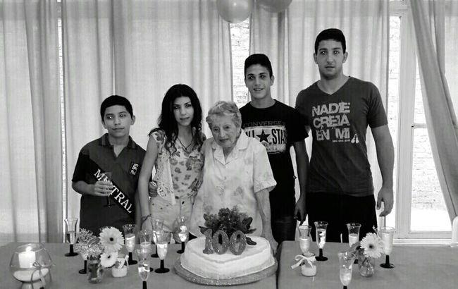 Abuela♡ 100happydays HappyBirthday Hermano♥ Primos