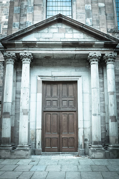 Architecture Building Exterior Built Structure Closed Closed Door Day Door Entrance Entry Entryway Exterior Façade Front Door Historic History House Outdoors Protection Residential Structure Safety