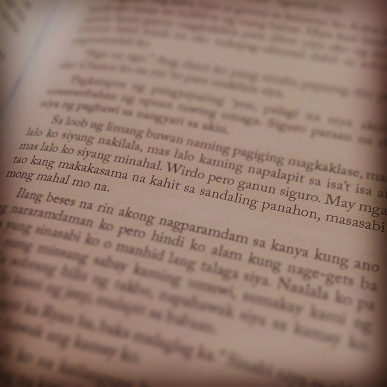 Para sa hopeless romantic. ExtendedEdition Excerpt