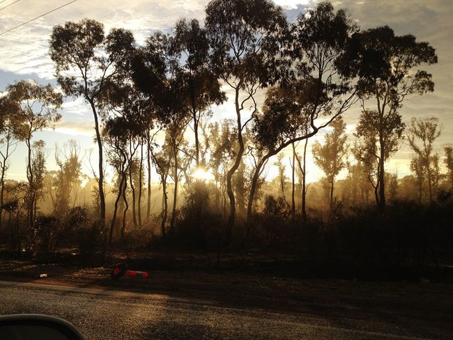 Morning Rays Sunrise Sky Australia