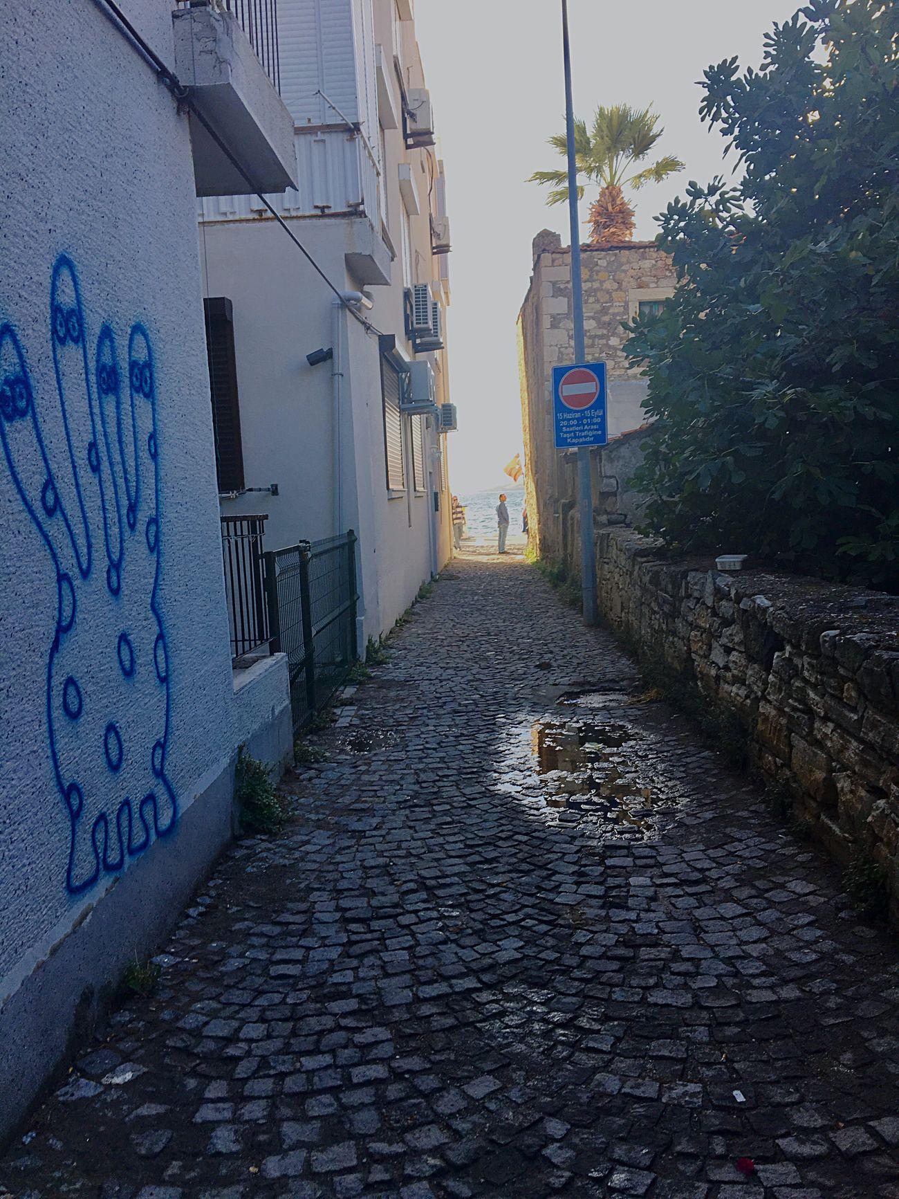 Yolu denize çıkan sokaklar... Türkiye Eskifoca Izmir Arnavutkaldırımı Streetphotography Day Sokaklar Agean Sea Phokaia