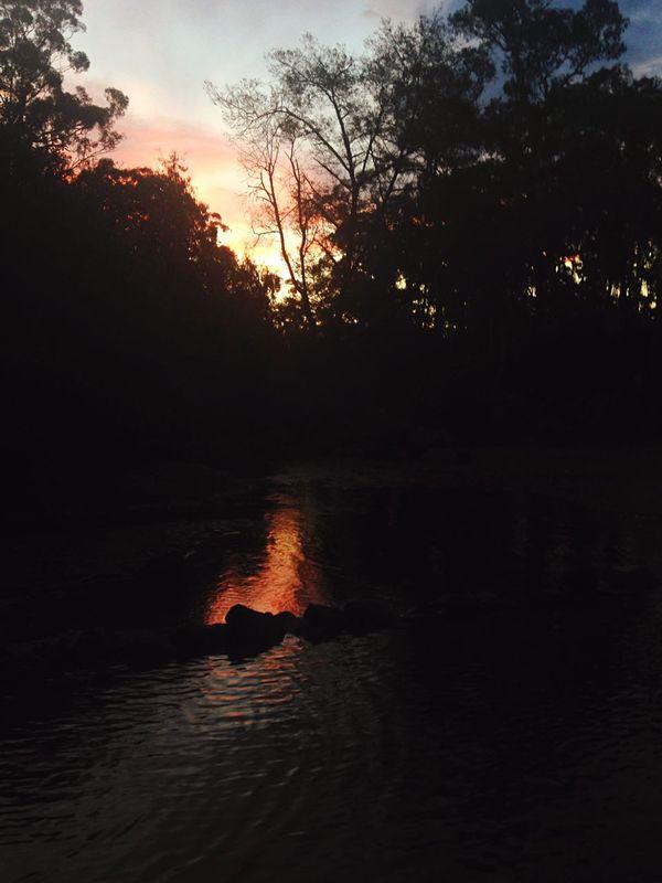 Yarra River Sunset Warrandyte