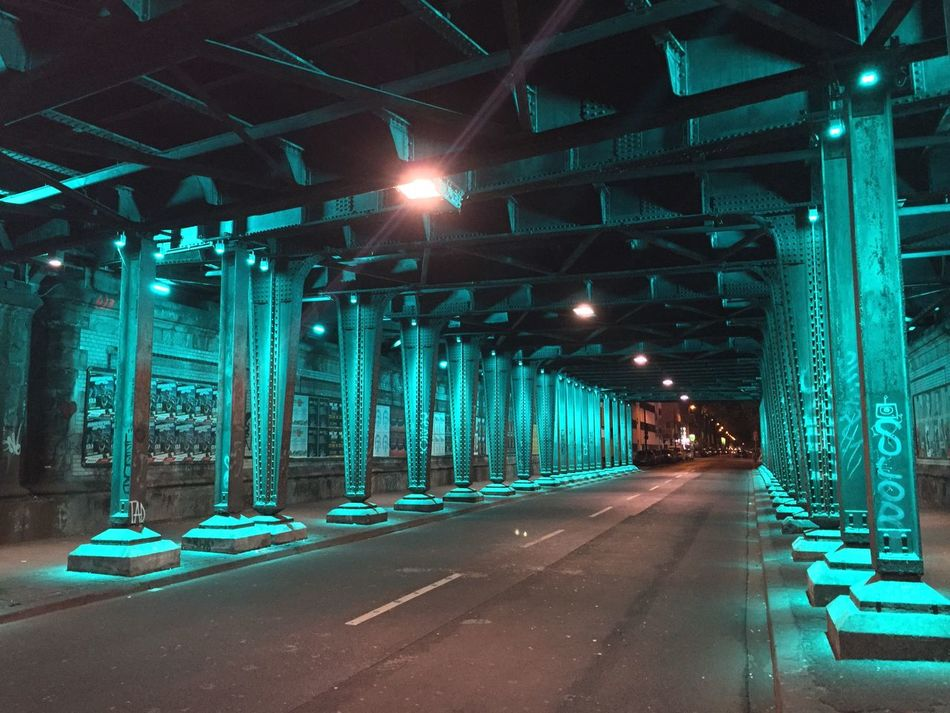 Köln Cologne Battle Of The Cities Illuminated Transportation Road Architecture Built Structure Street Light Night The Way Forward Lit Surface Level Architectural Column Footpath No Filter
