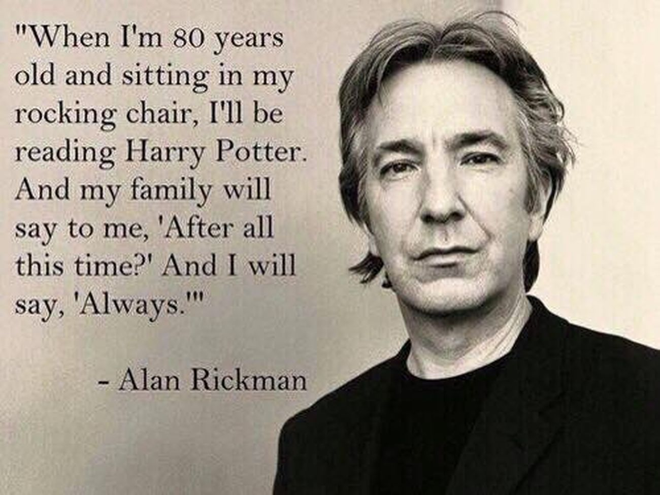 RIP Harrypotter Alan Rickman RIP :(