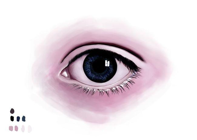 Digital Eye Sketch Portrait Painting Drawing ArtWork Creative Gallery Illustration Design Decoration Art Gallery Photoshop Digital Art Artist Drawings Eye Sketchbook Sketching Sketch Creativity Ideas My Artwork Watercolor Artsy MyArt Watercolour