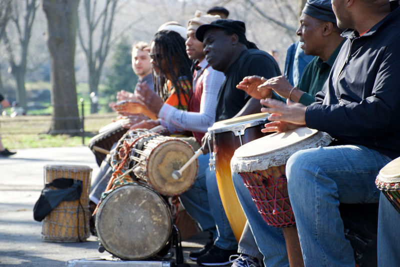 Arts Culture And Entertainment Culture Cultures Drums Large Group Of Objects Music Park Sitting Sound
