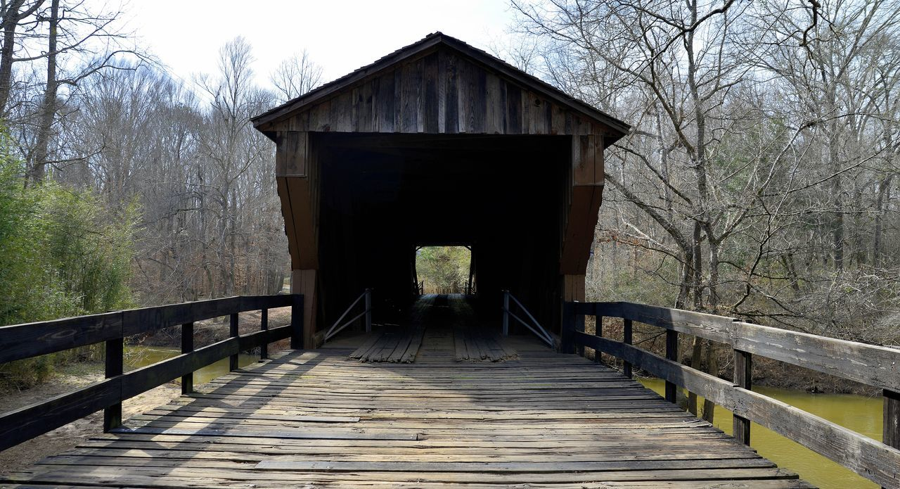 Bridge Country Road Darkness And Light In And Out Narrow Old Buildings Taking Photos Wood Woodbury,Ga Wooden Bridge