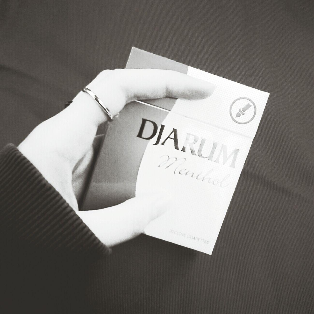 Cigarette  Djarum Menthol